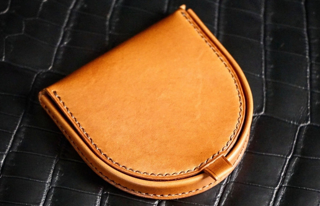 Leathercraft Workshop - Horseshoe Coin Pouch