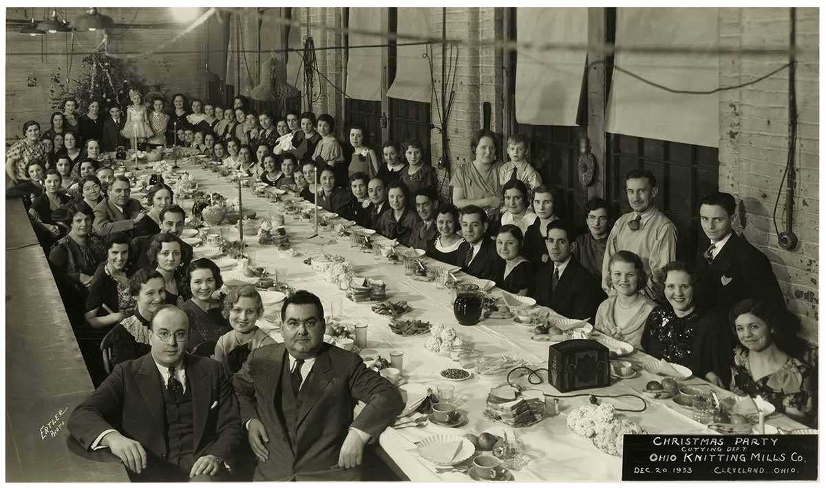 Photo of OKM Factory workers circa 1950