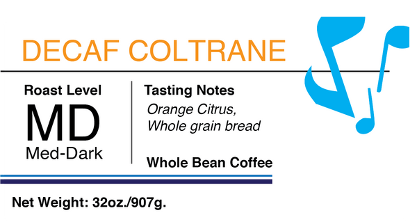 Decaffeinated Coltrane Espresso
