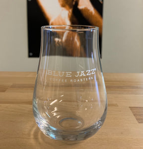 Blue Jazz Coffee Roasters - 13.5 oz. Glass Tumbler