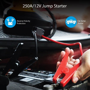 PROMATE 12V Car Jump Starter Kit. Includes Electronic Air Compressor