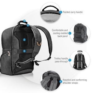 EVERKI Contemporary Commuter Laptop Backpack, Up To 15.6-Inch.