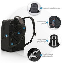 Load image into Gallery viewer, EVERKI Advance Laptop Backpack. Up To 15.6'. Dedicated Pockets For An