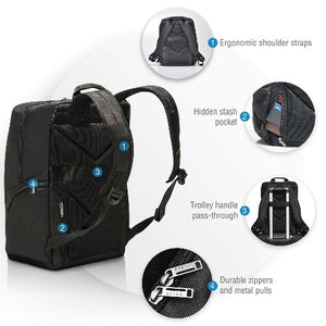 EVERKI Advance Laptop Backpack. Up To 15.6'. Dedicated Pockets For An