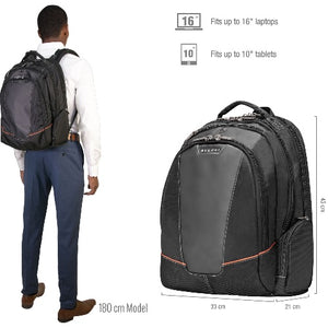 EVERKI Flight Laptop Backpack 16' Checkpoint Friendly Design