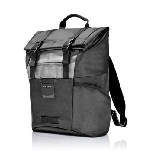 EVERKI ContemPRO Roll Top 15.6' Laptop Backpack. Dedicated Laptop