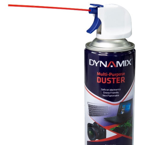 DYNAMIX 400ml Air Duster, Super High Pressure, Non-Flammable,