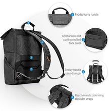 Load image into Gallery viewer, EVERKI ContemPRO Roll Top 15.6' Laptop Backpack. Dedicated Laptop