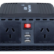 Load image into Gallery viewer, DYNAMIX 600W Power Inverter Input: 13.5V DC, Output: 230V AC