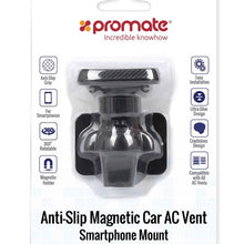 Load image into Gallery viewer, PROMATE Anti-Slip Magnetic AC Vent Smartphone Mount.