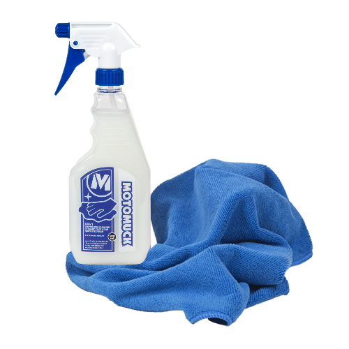 3 in 1 Waterless Wash, Quick Detailer + Microfibre Towel