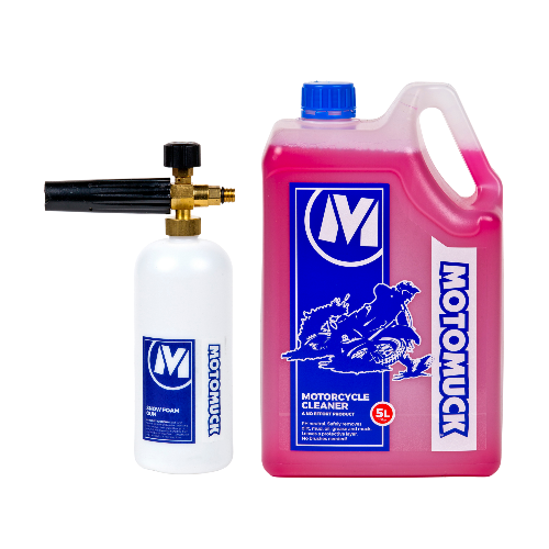 Motorcycle Cleaner 5L + Snow Foam Gun
