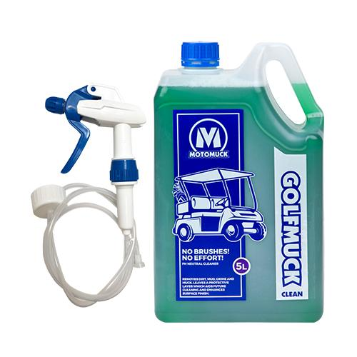 Golfmuck Clean 5 Litre with Squirter ProMax