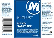 Load image into Gallery viewer, M-Plus 70% Alcohol Hand Sanitiser