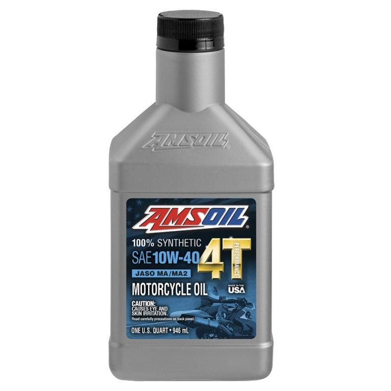 10W-40 100% Synthetic Performance Motorcycle Oil