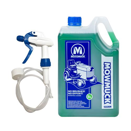 Mowmuck Clean 5 Litre with Squirter ProMax