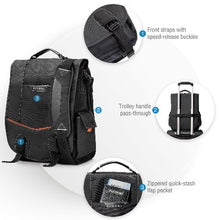 Load image into Gallery viewer, EVERKI Urbanite Messenger Bag 14.1' ,Checkpoint Friendly Design.