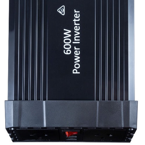 DYNAMIX 600W Power Inverter Input: 13.5V DC, Output: 230V AC