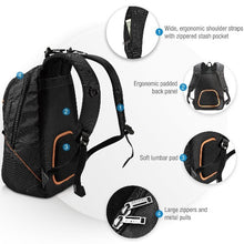 Load image into Gallery viewer, EVERKI Glide Laptop Backpack 17.3' Integrated Corner-Guard Protection,