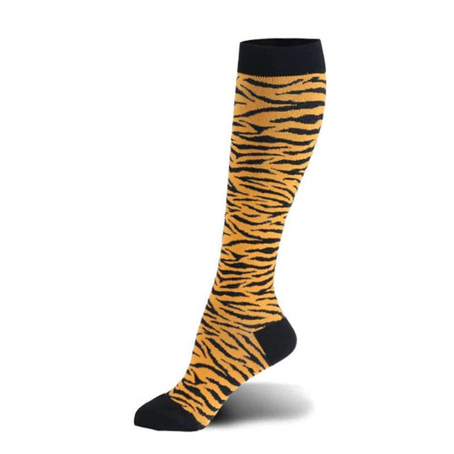 "Women's Compression Socks - ""Hey Tiger"""