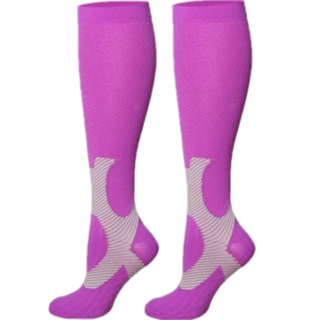 Women's Compression Socks - Purple