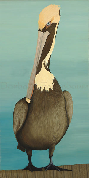 DockSide Pelican - Original Oil