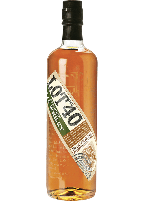 Lot 40 Pot Still Canadian Whisky