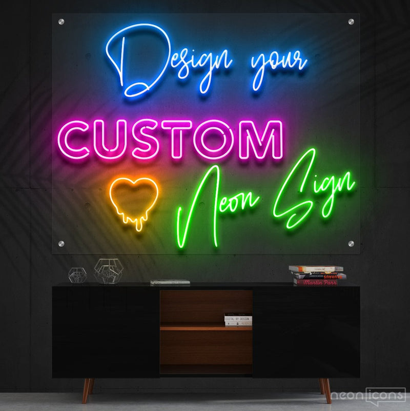 Design Your Custom Neon Sign by Neon Icons