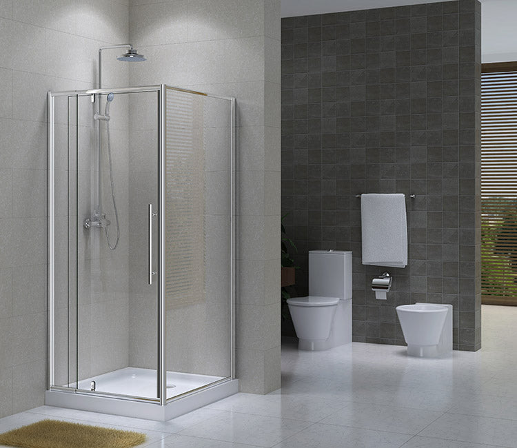 Pompei 900x9000MM Square Shower Box