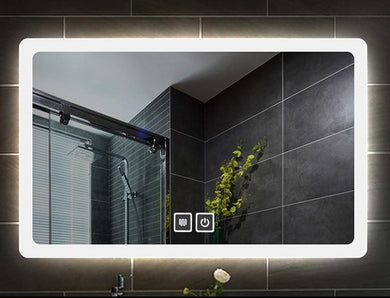 Square LED Mirror with Demister