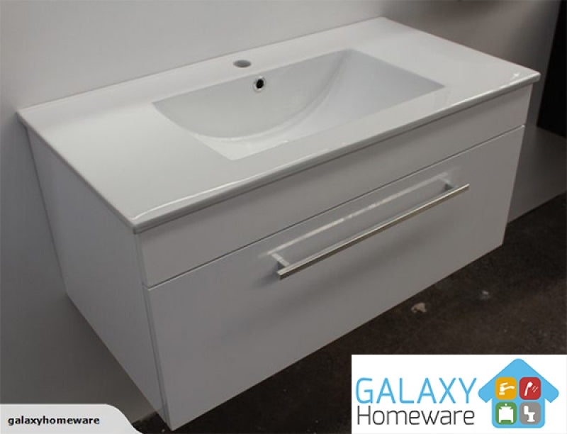 Como Single Drawer Vanity 750mm
