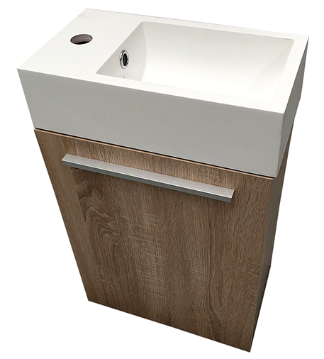 Gaia Vanity:  400MM Wall-hung
