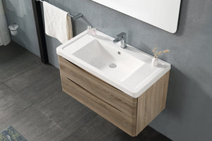 Harmonia Wall Hung Vanity 750MM