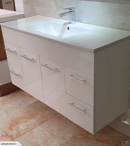 Thalassa Wall Hung Vanity 1200mm