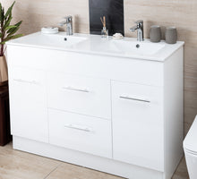 Load image into Gallery viewer, Thalassa Double Basin Vanity 1200mm