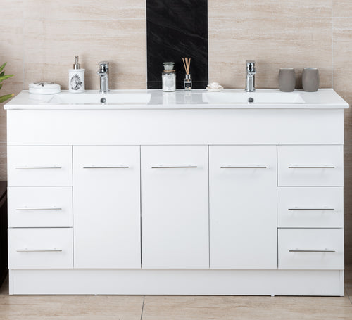 Thalassa Double Basin Vanity 1500mm