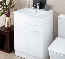 Load image into Gallery viewer, Thalassa Floor Standing Vanity 600mm