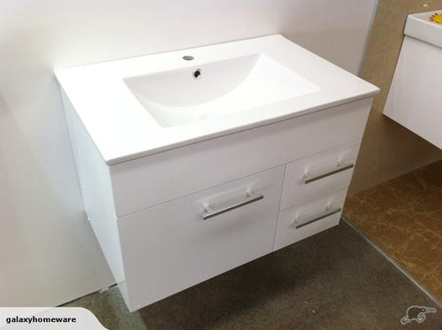 Thalassa Wall Hung Vanity 750mm