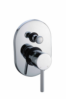Shower Mixer Round With Diverter