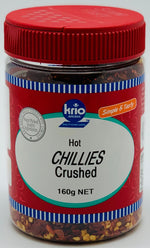 HOT CHILLIES CRUSHED- SPICE- KRIO KRUSH