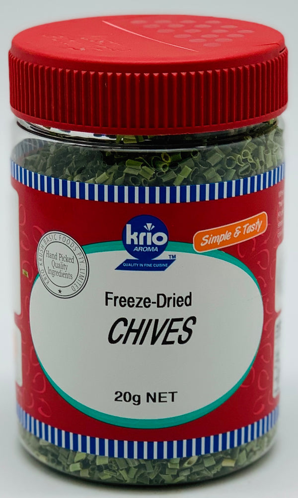 CHIVES FREEZE DRIED- HERBS - KRIO KRUSH