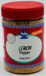 LEMON PEPPER- SEASONING- KRIO KRUSH