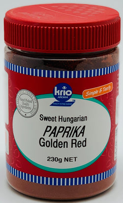 PAPRIKA GOLDEN RED - SPICE- KRIO KRUSH