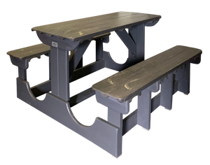 "(B4A) THE ""STEENBERG"" POLY / PINE BENCH   (50% Recycled Plastic & 50% Timber)"