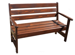 "(E9) THE ""CHURCH PEW"" BENCH"