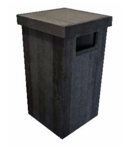 (RP9P) SIDE LOADING DUST BIN
