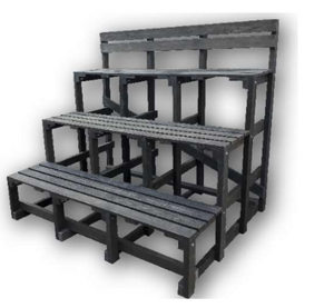 "(RP9M) THE ""PAVILION"" SPORTS FIELD BENCH"