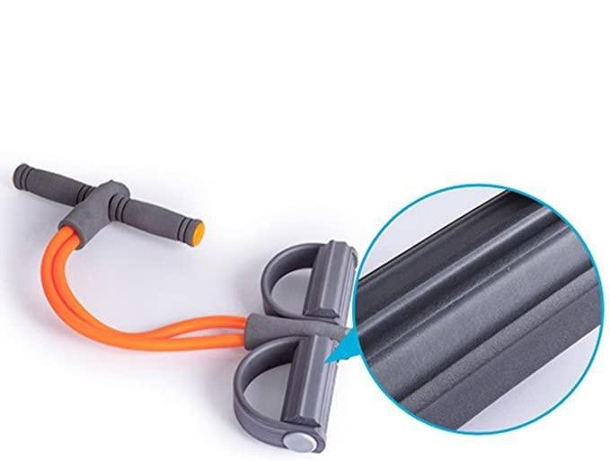 2 in 1 Resistance Band Sit-Up and Rower - LookNoFurther.ca