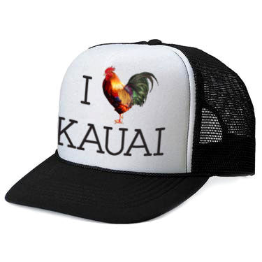 I HEART KAUAI Trucker
