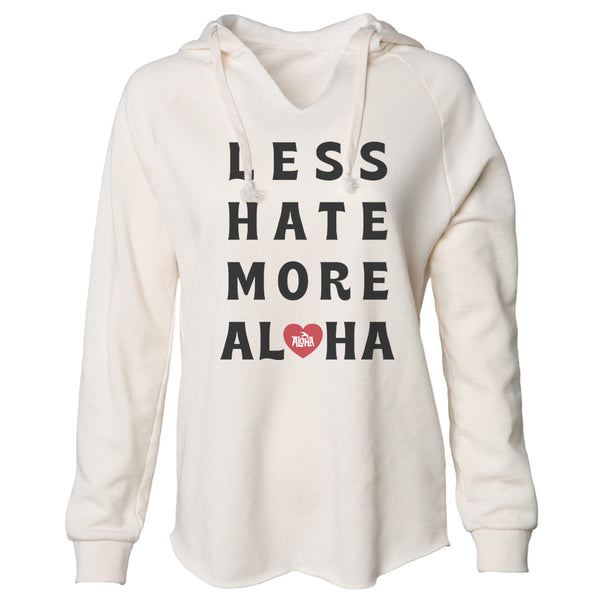 LESS HATE Bone Beach Hoodie